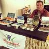 Nashua, New Hampshire book signing: My books and the Waunders Children's Books.